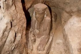 Archaeologists Discover Sphinx From Ptolemaic Dynasty in Egypt