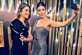 Anushka Unveils Her Interactive Wax Statue in Singapore
