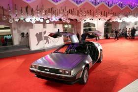 Back to the Future Sports Car DeLorean Makes a Comeback at Venice Film Festival