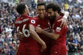 Super Sub Firmino Hands Liverpool Flying Champions League Start over PSG
