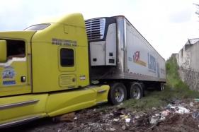 Morgues Full, a Truck Full of Bodies Now Haunts Mexico City