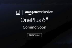 OnePlus 6T Ad on Amazon Website Hints at Its Arrival Soon as an Amazon Exclusive
