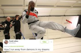 Usain Bolt Just Proved that He Can Win Every Race — on Land or in Space