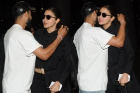 PHOTOS| Virat Kohli & Anushka Sharma's PDA at Airport