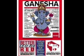'Would You Worship a Donkey or Elephant?' Republican Party Draws Flak for Ganesh Chaturthi Ad