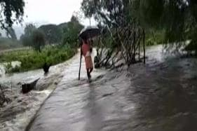 Flood Like Situation In Odisha Due To Cyclone Dai