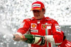 Raikkonen Says Partying Made Him a Better Driver
