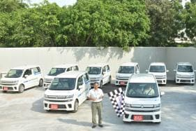 Maruti Suzuki Wagon R Electric Models Flagged-Off for Field Testing in India