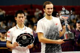 Qualifier Medvedev Stuns Nishikori to Win Japan Open Title