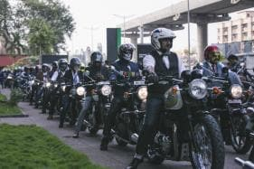 Over 1500 Triumph Motorcycle Owners Across India Take Part in the 2018 Distinguished Gentlemen's Ride