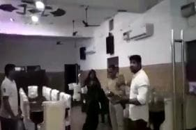 BJP Councilor Thrashes UP Cop Over Tiff With Staff at His Restaurant, Arrested After Video Goes Viral