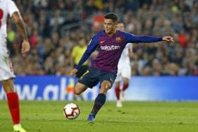 Barcelona's Philippe Coutinho Out For Two or Three Weeks With Injury