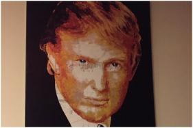Trump's Charity Bought His Portrait for $10,000 as No One Else Bid at the Auction, His Lawyer Reveals