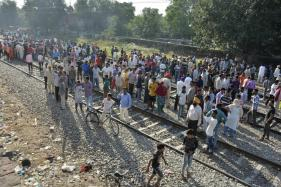 Locals Say 2 Trains Passed Slowly Minutes Before 'Killer Express' Mowed Down Dussehra Crowd
