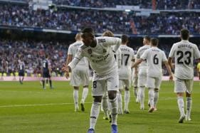 Teenager Vinicius Makes Difference as Real Madrid Scrape Past Valladolid, Barcelona Shine in Late Show