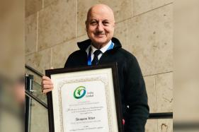 Anupam Kher Conferred with 'Distinguished Fellow' Title by Boston Business School