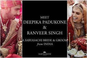DeepVeer Wedding: Sabyasachi Dresses the Newlyweds in Color of Love, See Pics