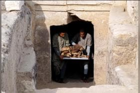 7 Tombs Unearthed Near Cairo