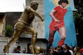 Legendary Diego Maradona Honoured With Statue on 58th Birthday
