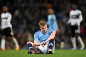 Kevin de Bruyne to Miss Manchester Derby Due to Knee Injury