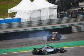 Max Verstappen Threatens to 'Punch' Ocon as Lewis Hamilton Wins Brazilian GP