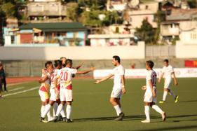 East Bengal beat Shillong Lajong 3-1, Go Top of Table