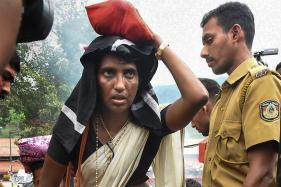 KP Sasikala Reaches Sabarimala, Climbs Up 18 Sacred Steps of the Temple