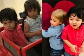 Peek-A-Boo: Taimur, Yash and Roohi on a Playdate, Karan Johar Shares Pics
