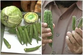 Delhi Traders are Putting Crackers Inside Vegetables to Make Them 'Green' this Diwali