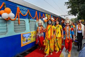 PHOTOS: Shri Ramayana Express Train Flagged Off from New Delhi