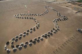 Nissan Patrol SUV Creates Guinness World Records Title For Largest Synchronized Car Dance