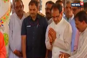 Madhya Pradesh CM Performs Pooja Before Filing Nomination For Assembly Election