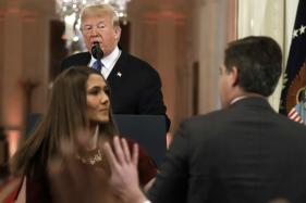 CNN Reporter's Press Pass Suspended After Shouting Match With Trump