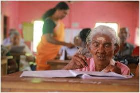What a Winner! 96-Year-Old Woman Scored 98% and Topped Kerala Literacy Exam
