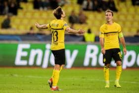 Borussia Dortmund Top Champions League Group After Win at Monaco