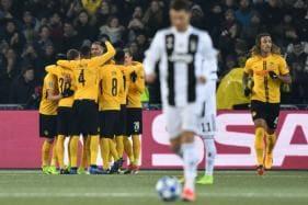 Cristiano Ronaldo-led Juventus Beaten by Swiss Champions, Take Top Spot in Ahead of Man Utd