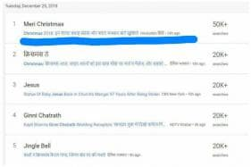 Indians Are Searching For 'Meri' and 'Marry' Instead of Merry Christmas on Google