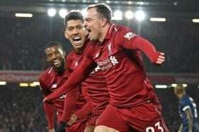 Shaqiri Strikes Twice to Beat Manchester United, Sends Liverpool to Top