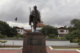 Mahatma Gandhi's Statue Removed From University of Ghana After Protests Of 'Racism'
