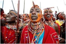 Kenyan Warriors are Hunting for Cash Instead of Lions in Maasai Olympics