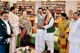 Stalin, Kanimozhi Call on Sonia Gandhi With Birthday Greetings, Ex-UPA Minister A Raja Also Present
