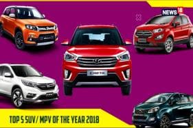 Top 5 SUV/ MPV Of The Year 2018