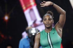 Serena Williams Edges Top Seed Simona Halep to Keep Australian Open Title Hopes Alive