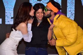 Ranveer Singh & Alia Bhatt Grace Gully Boy Trailer Launch