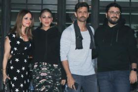 Hrithik Roshan's Birthday Bash: Hrithik Parties Ex-Wife Sussanne & Others