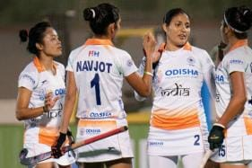 Indian Women's Hockey Team Defeat Spain 5-2 in Third Match