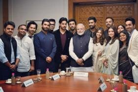 PM Narendra Modi Bonds With Bollywood's Young Icons; See Pics