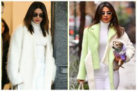 Priyanka Chopra Repeats Her Signature White Turtle Neck Like a Pro