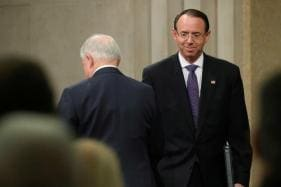 US Justice Dept's Rosenstein, Protector of Mueller Probe, to Step Down: Reports