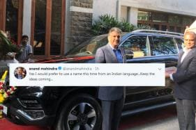Anand Mahindra Needs 'Indian' Nickname For New Car and There is a Prize Involved!
